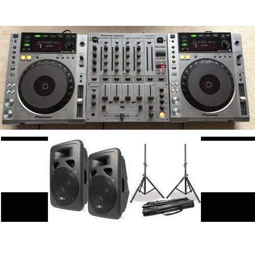 DJ set 2 met speakers huren