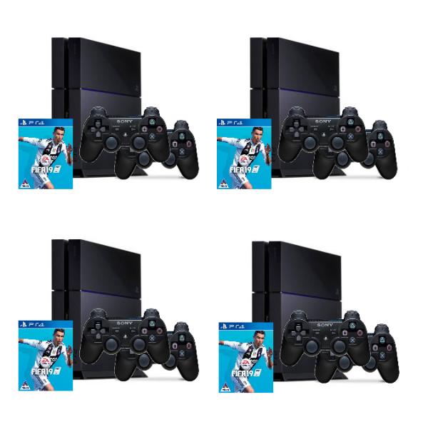Playstation 4 set huren