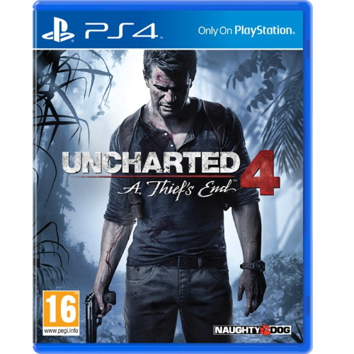 Uncharted 4: A Thief's End -PS4 game huren