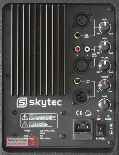 Skytec JPA-15 SP1500A 800watt active speaker huren 2