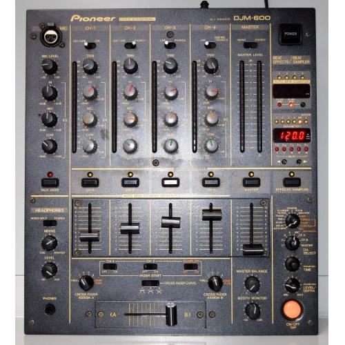 Pioneer djm 600 mixer huren